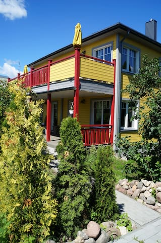 Nice appartment for 4 pers. in a cozy guesthouse - Druskininkai - Bed & Breakfast