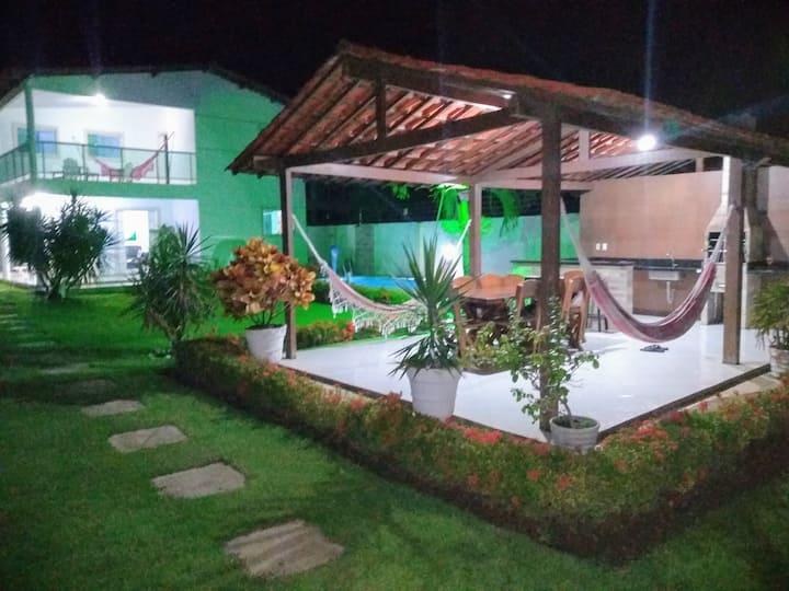 Casa à beira-mar no litoral norte de João Pessoa