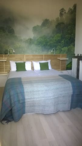 Chambre green forest