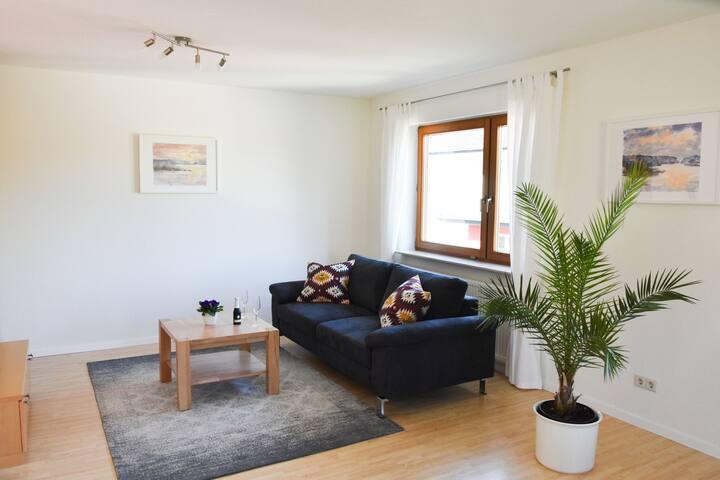 Ferienwohnung Liebich, (Bühl), Ferienwohnung, 65qm, Balkon, 1 Schlafzimmer, max. 2 Personen