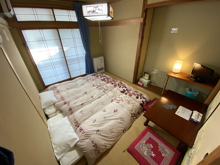 Nozawa Dream Central - 10sqm Japanese style room with shared bathrooms&toilets