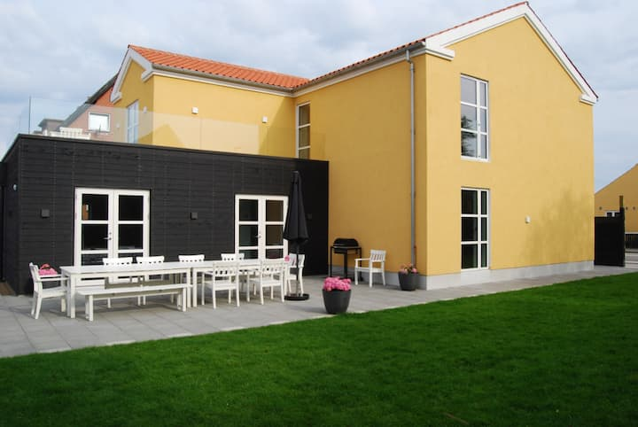 The Beautiful Trico house in Skagen