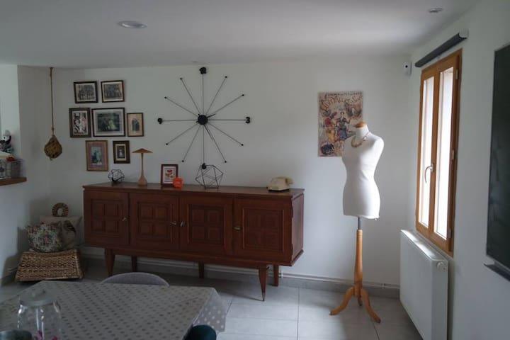 La maison vintage, shooting photos - Ponthoile