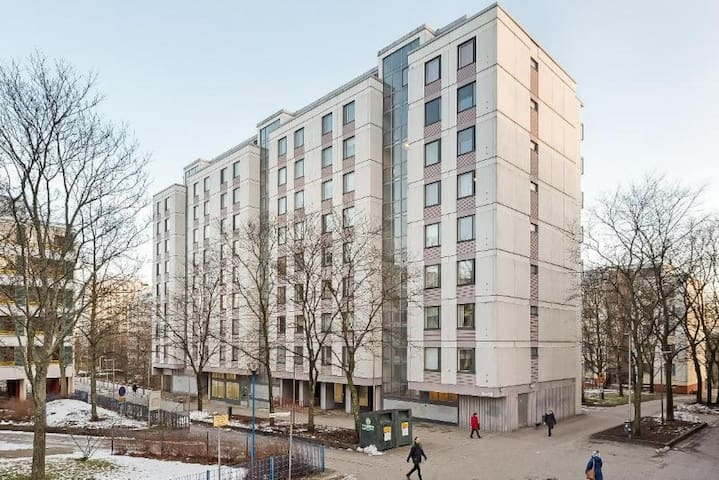 Large one-bedroom apartment in East Pasila