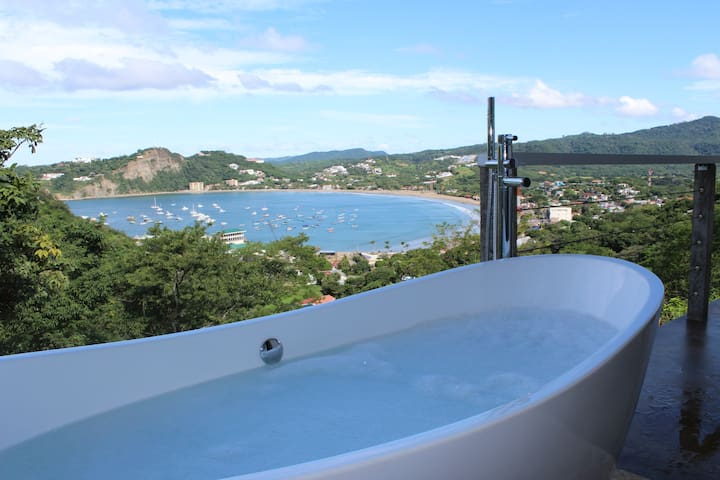 Outdoor Bathtub with Ocean View | Rumba Suite #2