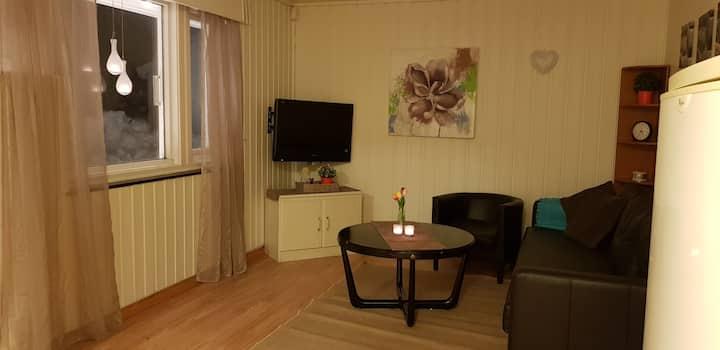 Koselig leilighet nært flyplassen.