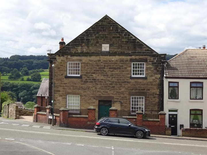 Converted Chapel with Great Views in Belper