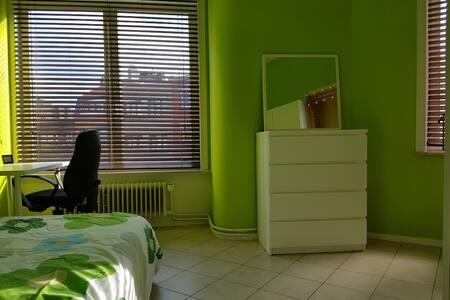Nice room in Brussels ! :) - Ixelles - Lejlighed
