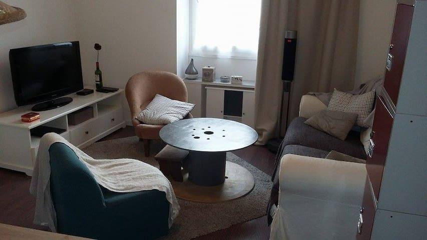 Joli T2 sur cour privative en centre ville - Nantes - Apartment