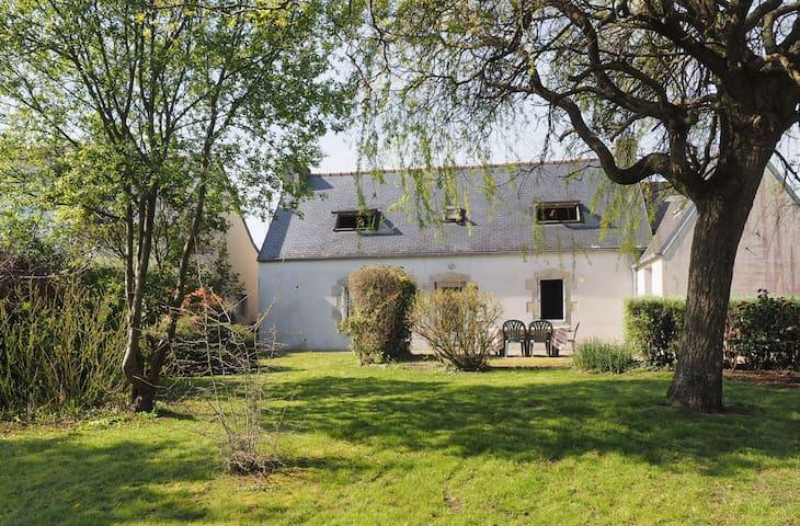 À 5 mn de la mer, maison familiale à Pouldreuzic