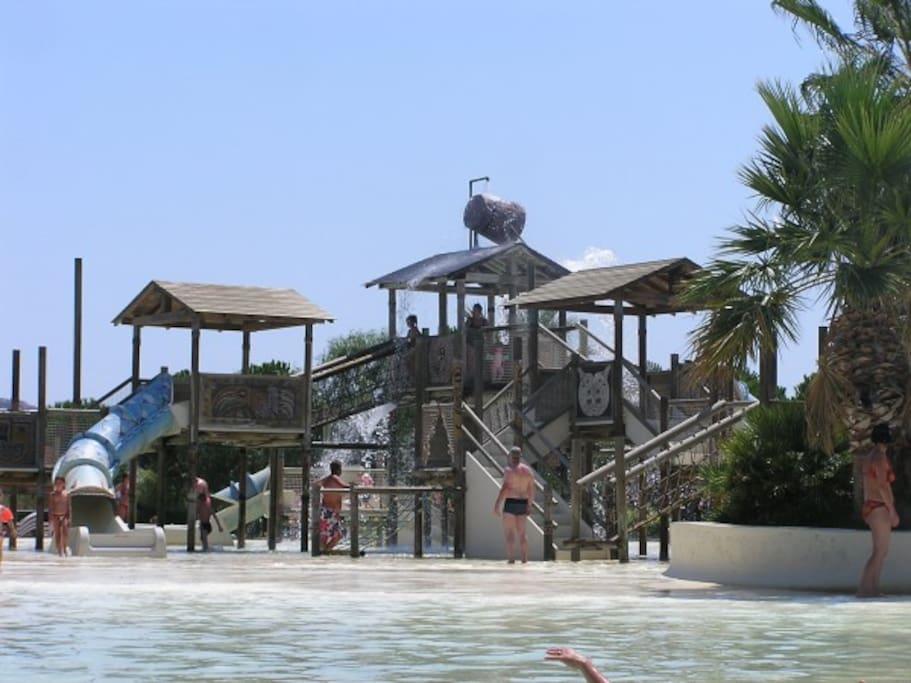 Le parc Aqua Brava