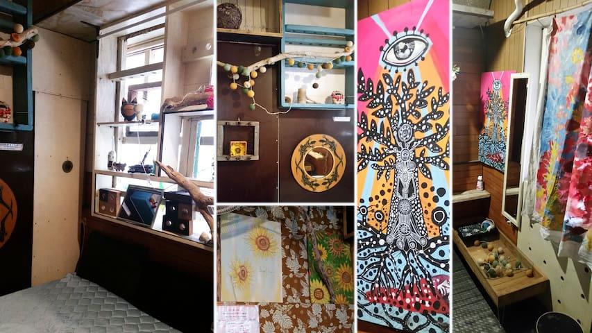 [Art&Sea アート&シー No5]海まですぐアーティスティック個室セルフリゾート・ゲストルーム
