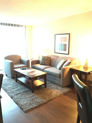 SLEEK 1BR/1BA in Arlington Heights - Arlington Heights - Leilighet