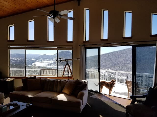 Cuyamaca Lake & Ocean View Custom Home