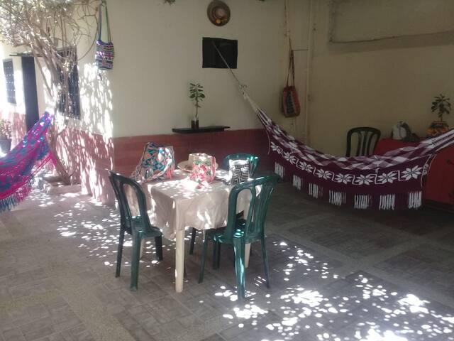 HOSTAL DISPI: Un rincón mágico, en la guajira
