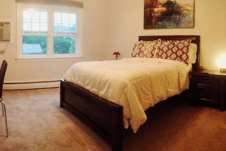 Spacious Room - near train to NYC - Lyndhurst - Casa