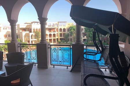 Talabay Aqaba, 2 Floor Apartment, King Size Bed