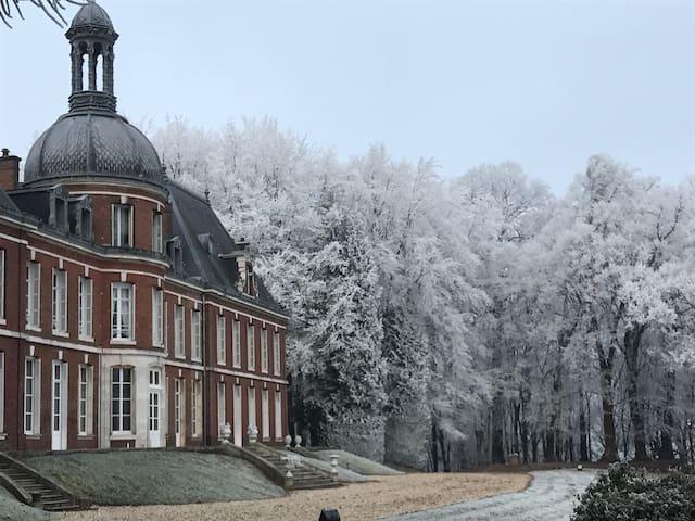 Chambre ronde chateau du landin - Le Landin