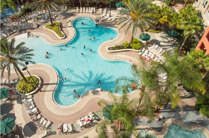 * Promotional Price/Resort near Disney Parks/4ppl*