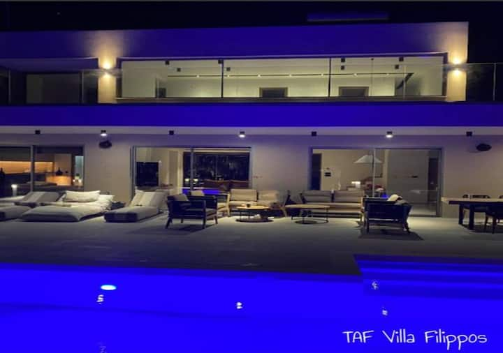 Taf Villa Filippos with private pool
