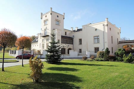 Chateau near Prague, up to 28 ppl: 3+1 free night