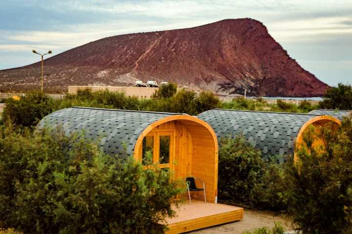 Eco-wooden Bungalow, Camping