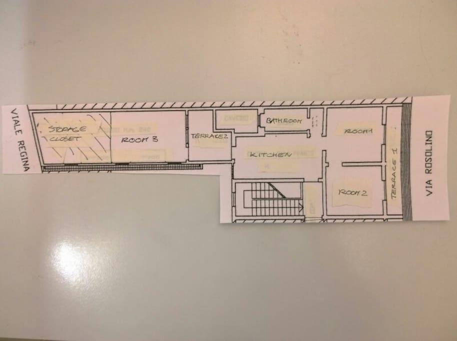 Apartment map
