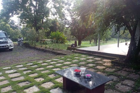 Bungalow by the River Amba