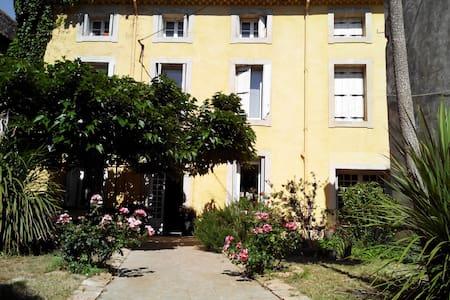 Grande Villa proche du Canal du midi et des plages - Lespignan