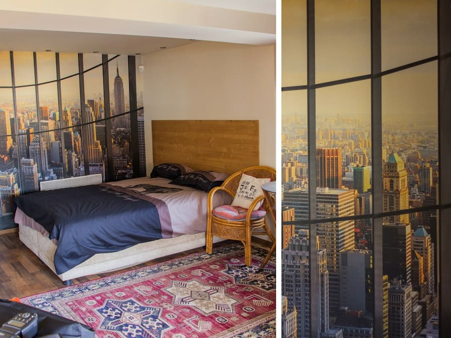 The NYC feel in Sofia loft