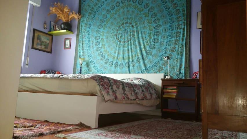 Stanza allegra e colorata - Marino - Lägenhet