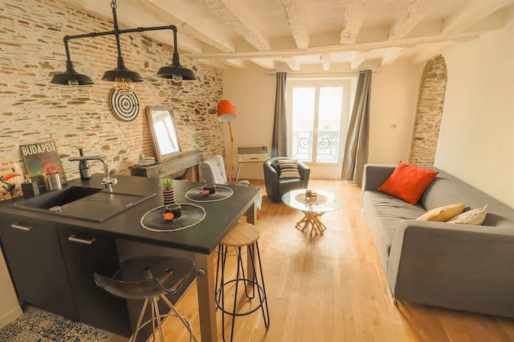 T2 de 41 m² en Hypercentre avec Terrasse