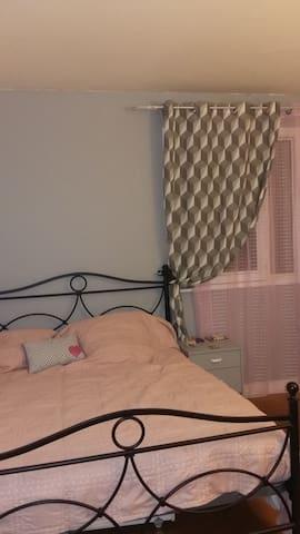 Chambre double dans appartement 3 pièces