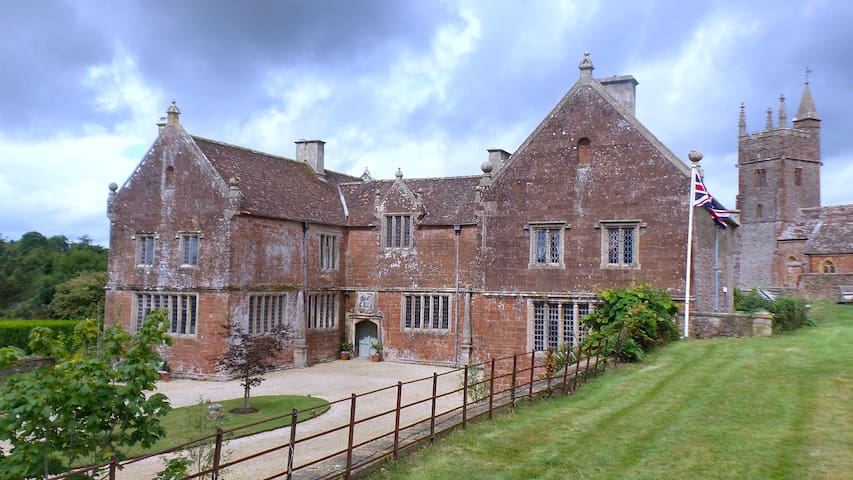 Historic Manor House - B & B - Somerset - Szoba reggelivel