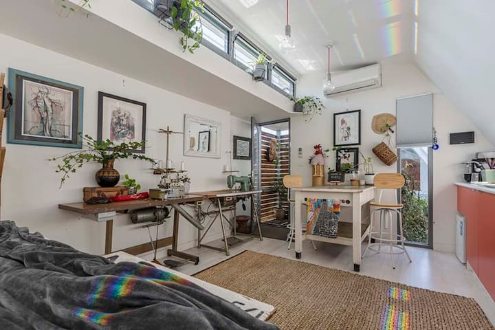 1 Bed Kodo Studio Quiet Retreat Fitzroy close to CBD