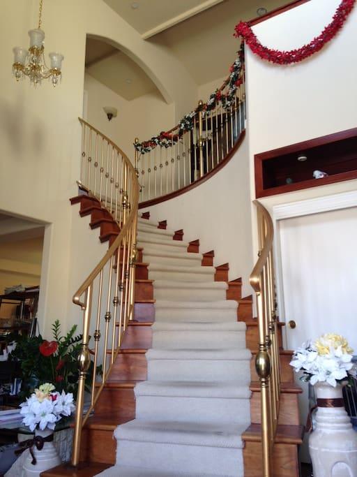 Staircase Upon Entrance