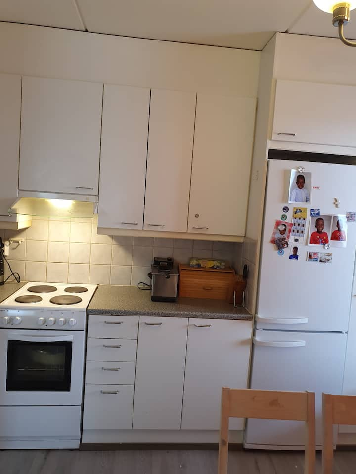 spacious two bedrooms apartment