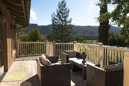 Napa Valley Vignoble Retreat - Saint Helena - Bed & Breakfast