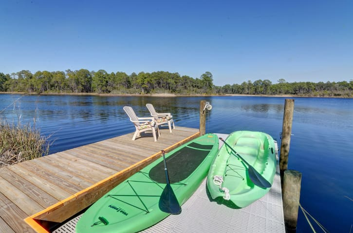 30A Dune Lake, waterfront apt, with Gulf access - Santa Rosa Beach - Apartament