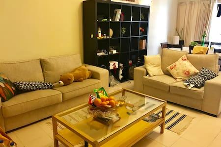 single bed @ shared master room in Seri Maya v1 - Kuala Lumpur - Bed & Breakfast