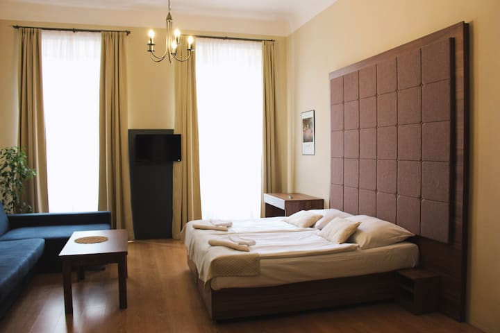Magical private accommodation under Prague Castle