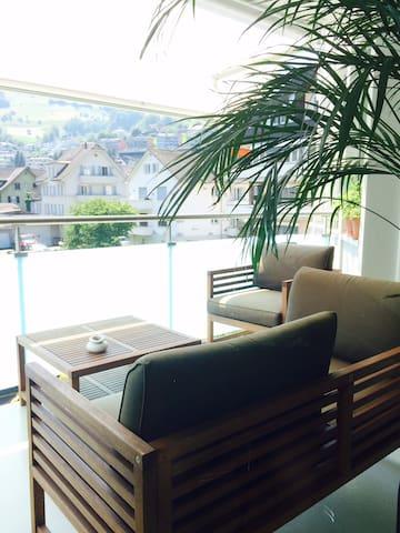 Beautiful apartment near lucerne lake