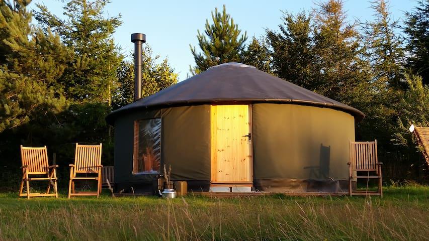 Roundhouse Yurt, Stunning Views - Totnes/Dartmouth