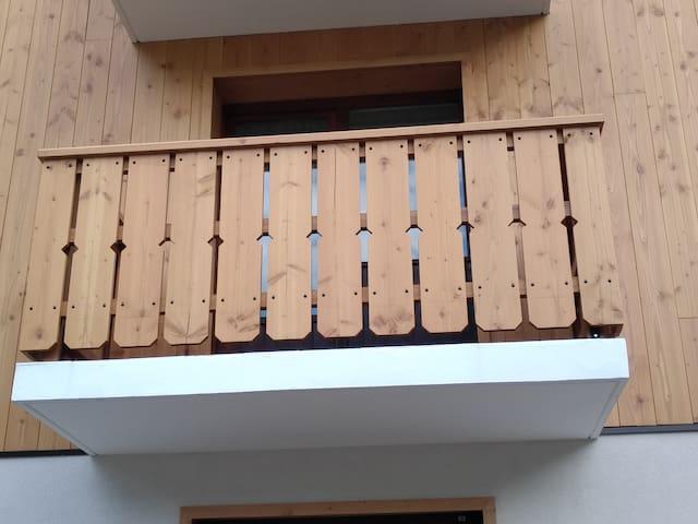 Studio Passy avec balcon et parking