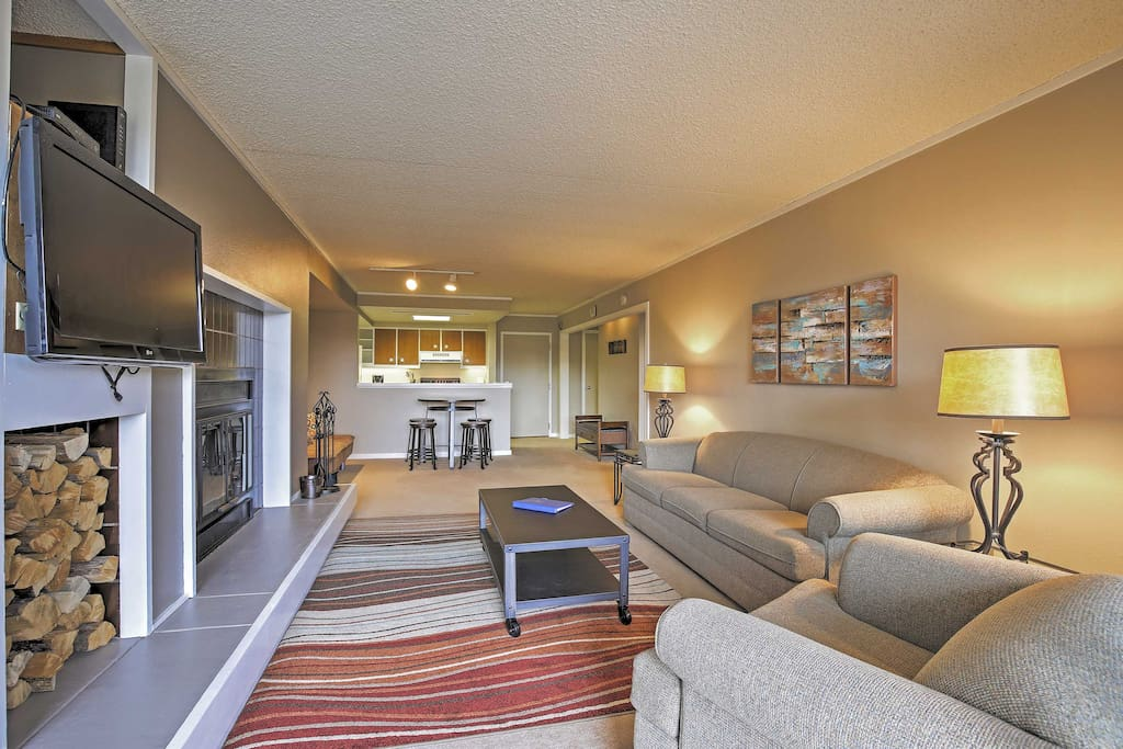 You'll feel right at home in the bright and spacious living area.