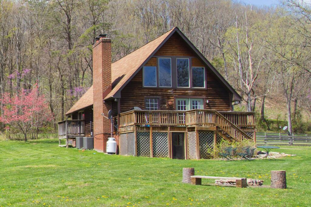 heaven on earth cabin near the shenandoah river cottages