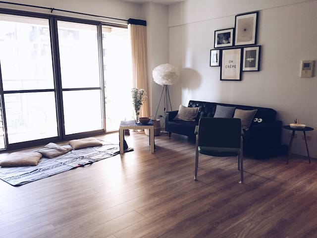Cozy flat with Tunghai Uni. nearby,free parking - Xitun District - Lejlighed
