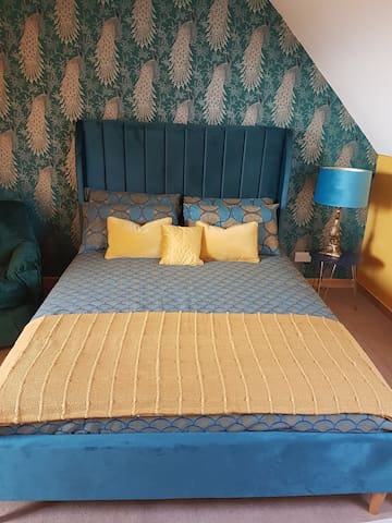 The Peacock bedroom