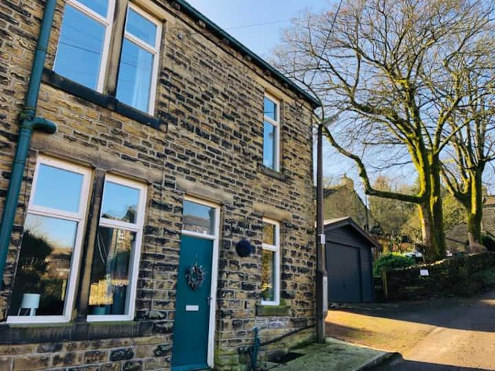 Hill Cottage, Haworth, Bronte Country