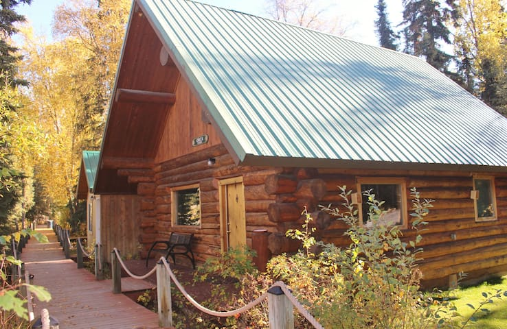 Private 3 BR Cabin on Kenai River - Soldotna - Hytte